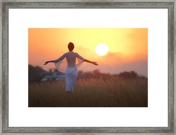 Our Sunrise Framed Print