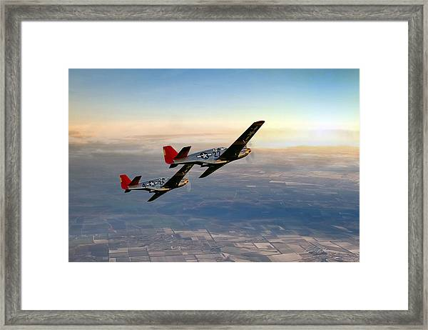 Our Time In The Sun Framed Print