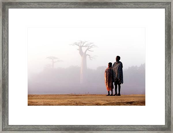 Our Way To Madagascar 2016 Framed Print by Gina Buliga