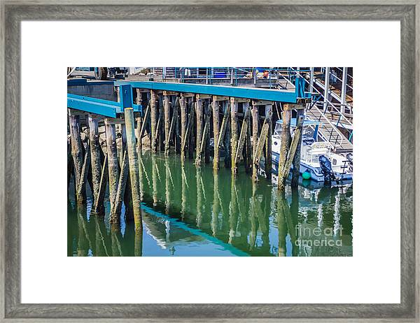 Out Fishing Framed Print