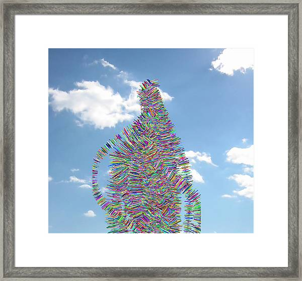 Out For A Walk With Spy Framed Print