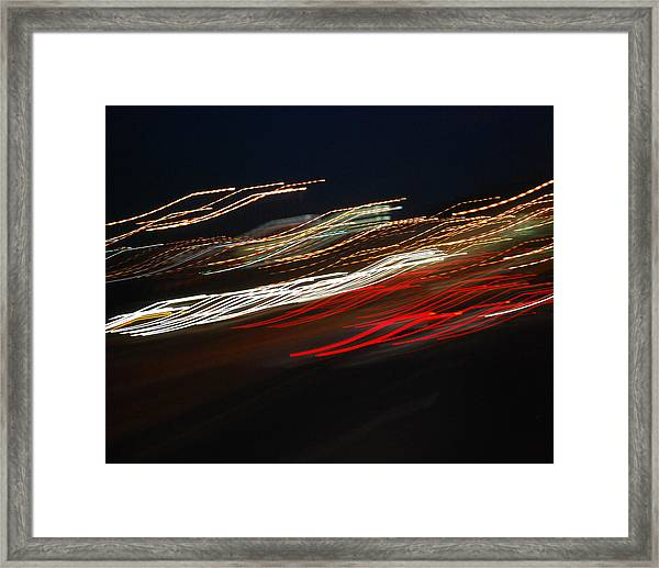 Out Of Control Framed Print