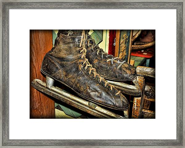 Out Of Ice Framed Print