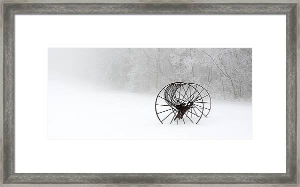 Out Of The Mist A Forgotten Era II Framed Print