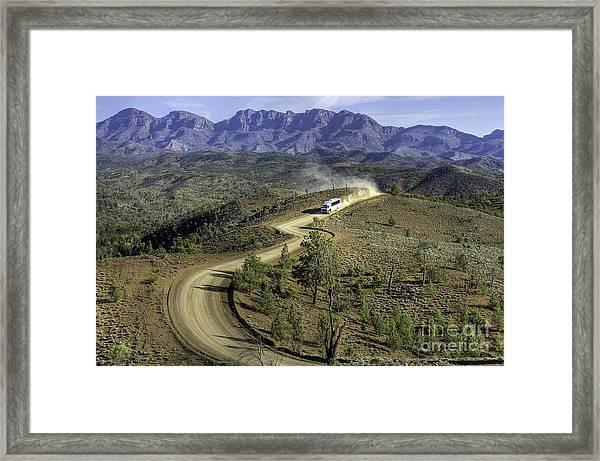 Outback Tour Framed Print