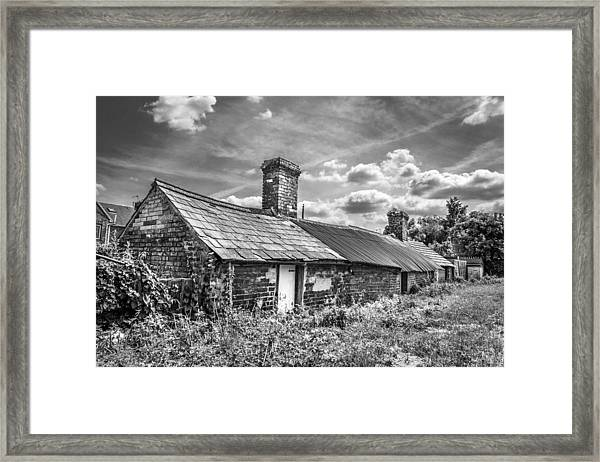 Outbuildings. Framed Print