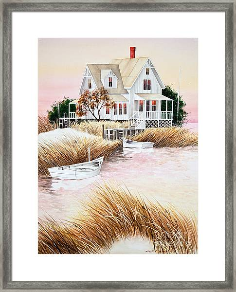 Outer Banks Summer Morning Framed Print