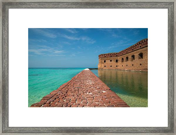 Outer Walk Framed Print