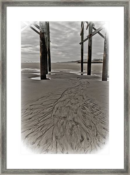 Framed Print featuring the photograph Outgoing Tide by Francis Trudeau