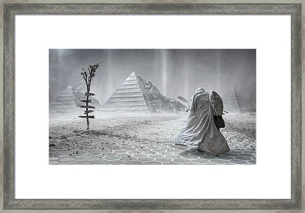 Outlander Framed Print by Sergey Parishkov