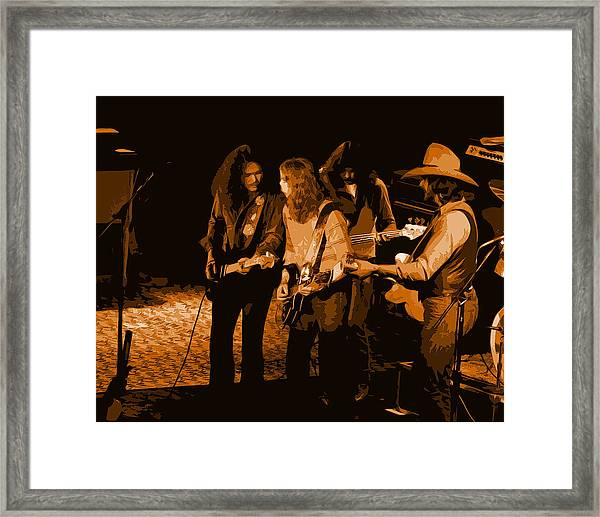 Outlaws #26 Crop 2 Art In Amber Framed Print