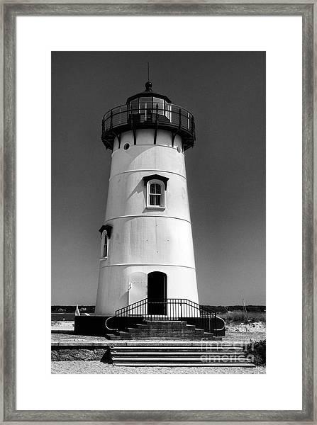 Outside Edgartown Lighthouse Framed Print