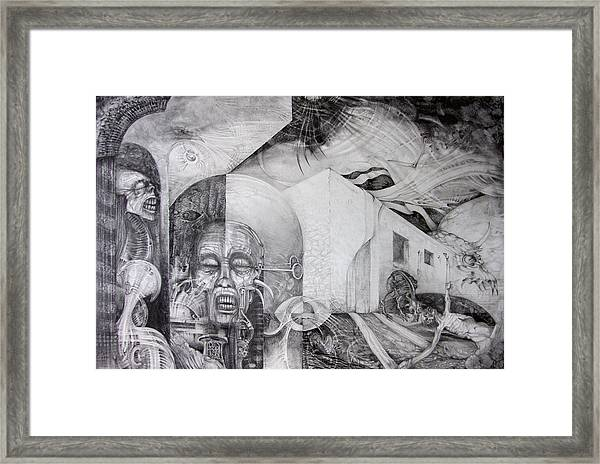 Outskirts Of Necropolis Framed Print