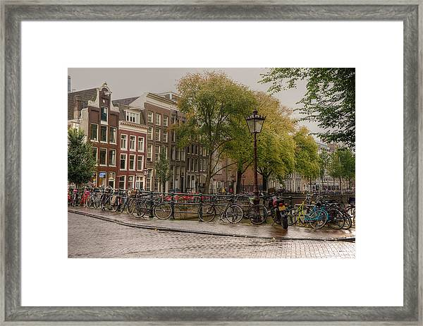 Over The Bridge Framed Print
