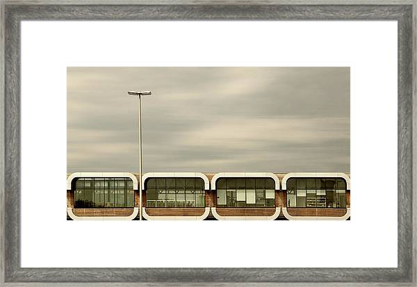 Over The Highway Framed Print