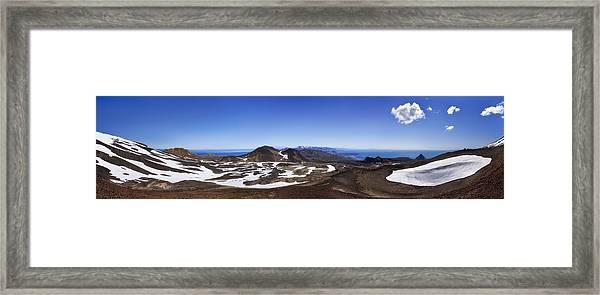 Over The Hills. Across The Fields. Framed Print