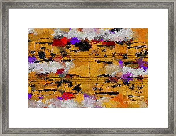 Overcast Opus 1 Framed Print
