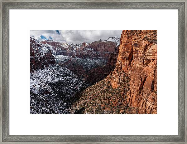 Overlook Framed Print
