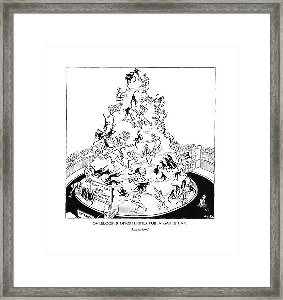 Overlooked Opportunities For A Gayer Framed Print