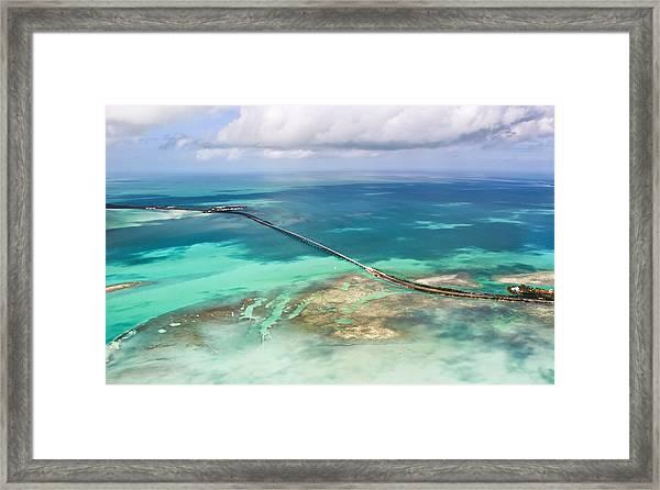Overseas Scenic Framed Print
