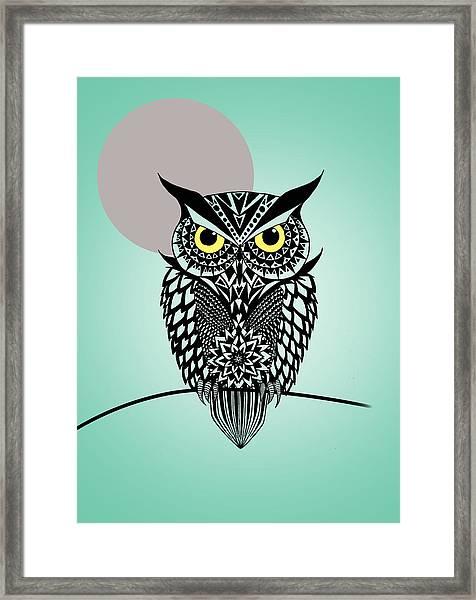 Owl 5 Framed Print