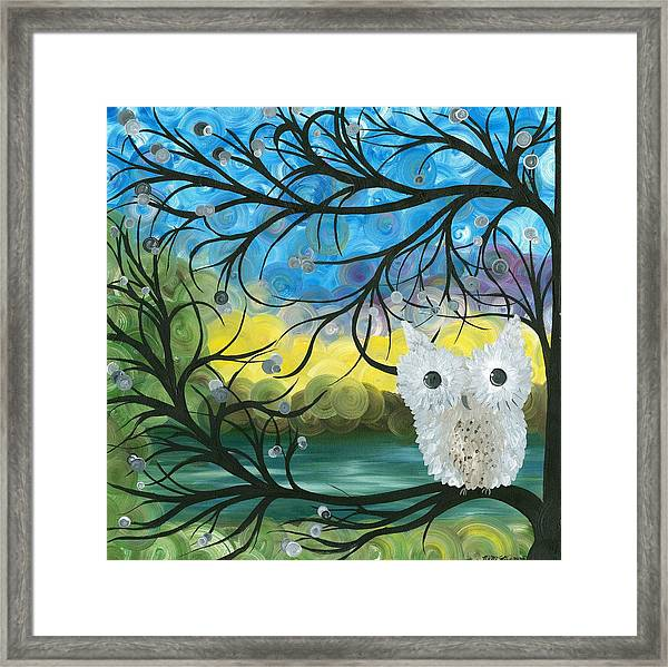 Owl Expressions 04 Framed Print