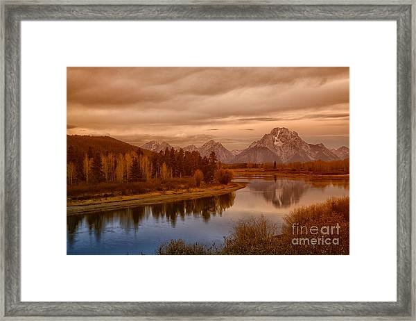 Oxbow Morning Framed Print