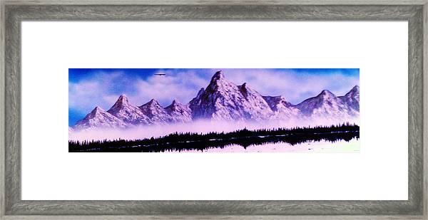 Ozark Mountains - Missouri Framed Print