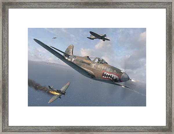 P-400 Hells Bells Framed Print