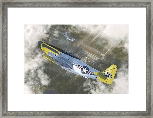 P-51 H Framed Print