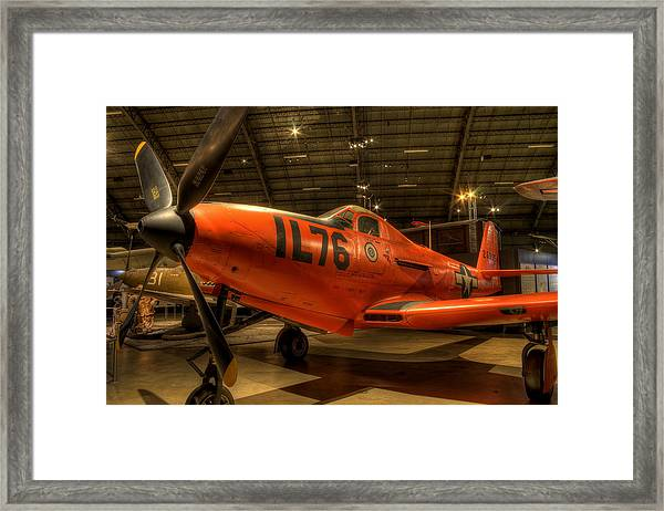 P-63 King Cobra Framed Print