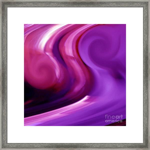 P Energy Framed Print