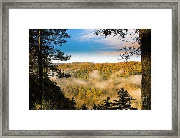 Pa Grand Canyon Framed Print