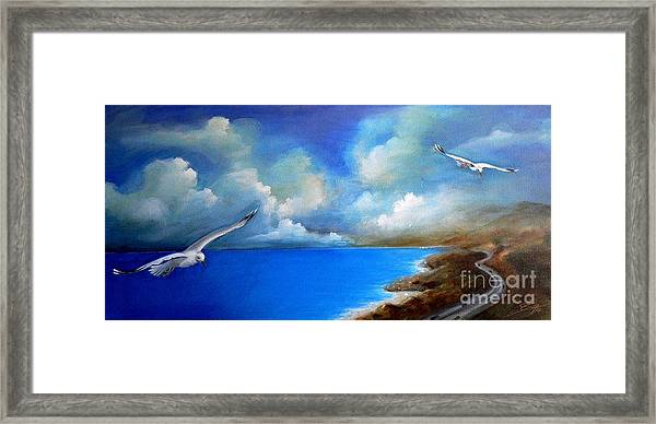 Pacific Highway 1 Framed Print