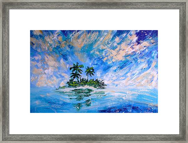Pacific Island Framed Print