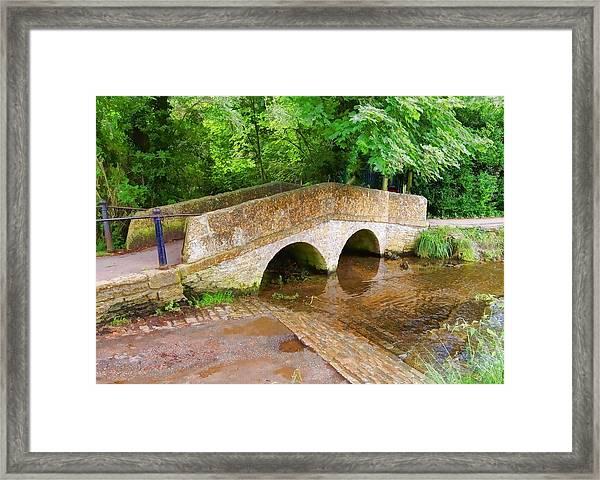 Pack Horse Bridge Framed Print