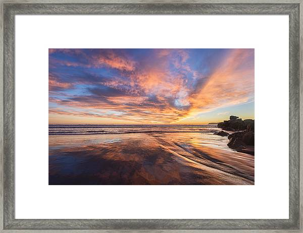 Paddle Boarding Framed Print