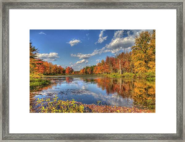 Paddle Not Needed Framed Print by Joe Martin A New Hampshire Portrait Photographer