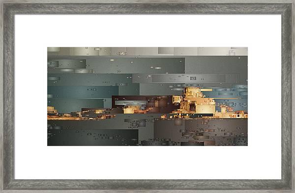 Padre Bay Framed Print