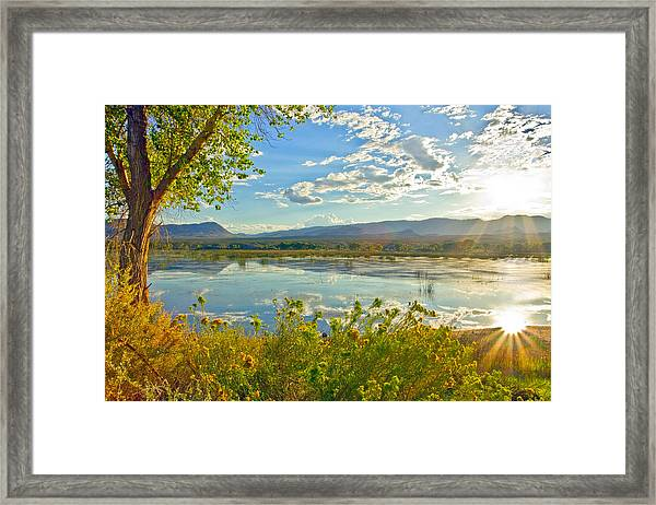 Pahranagat National Wildlife Refuge Framed Print