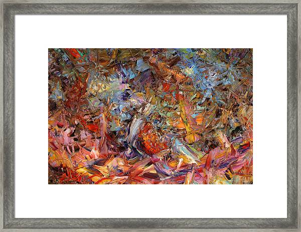 Paint Number 43a Framed Print