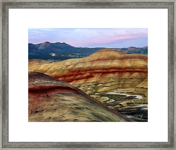 Painted Hills  Framed Print