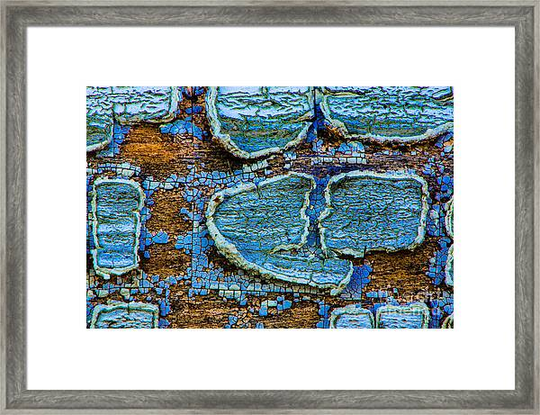 Painted Lovers Framed Print