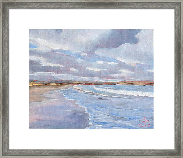 Painted Sky Framed Print