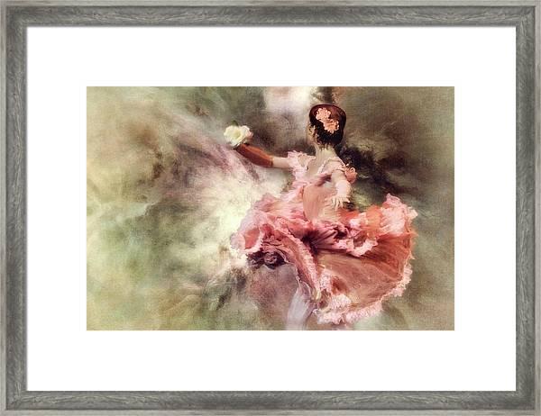 Painting My Sleep With A Colour So Bright... Framed Print by Charlaine Gerber