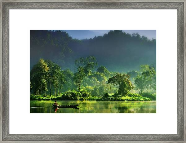 Painting Of  Nature Framed Print