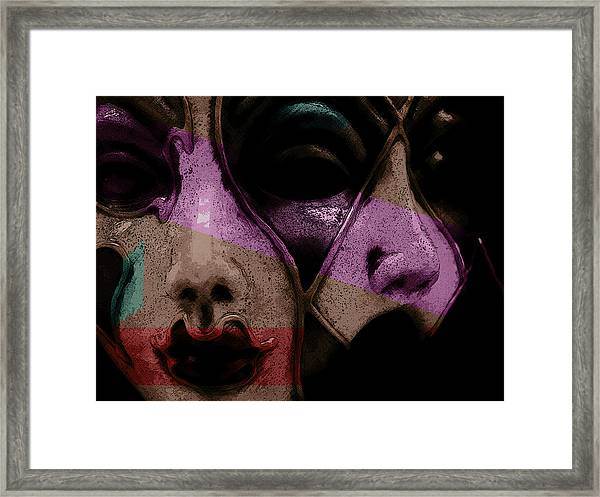 Pair Framed Print