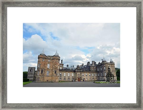 Palace Of Holyroodhouse Framed Print