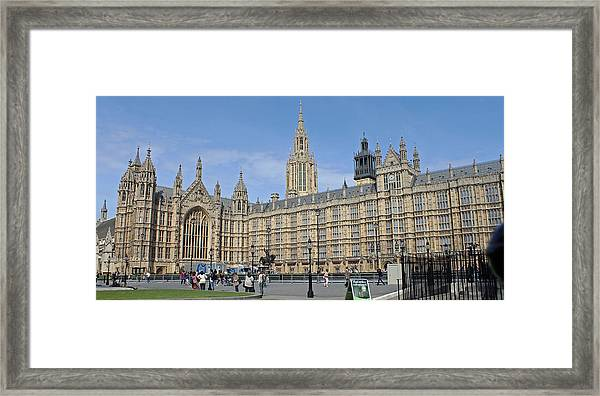 Palace Of Westminster Framed Print