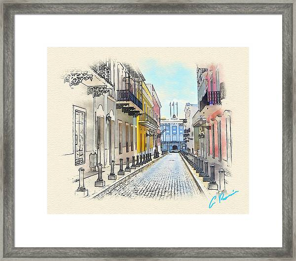 Palacio Santa Catalina Framed Print
